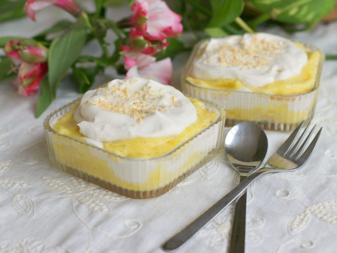 Pina Colada Layered Dessert