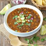 chipotle black bean soup