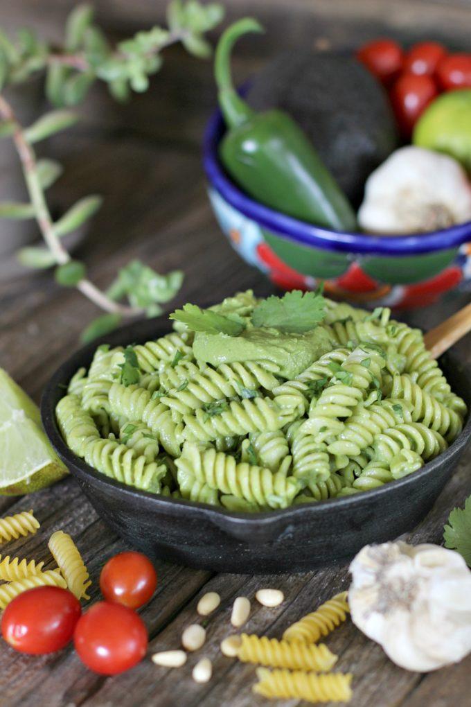 Creamy Avocado Cilantro Pesto