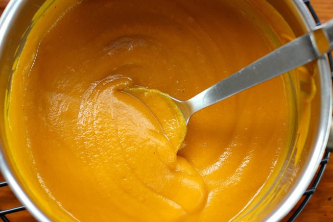 Creamy Blended Sweet Potato Mixture