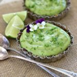Raw Vegan Avocado Lime Tart